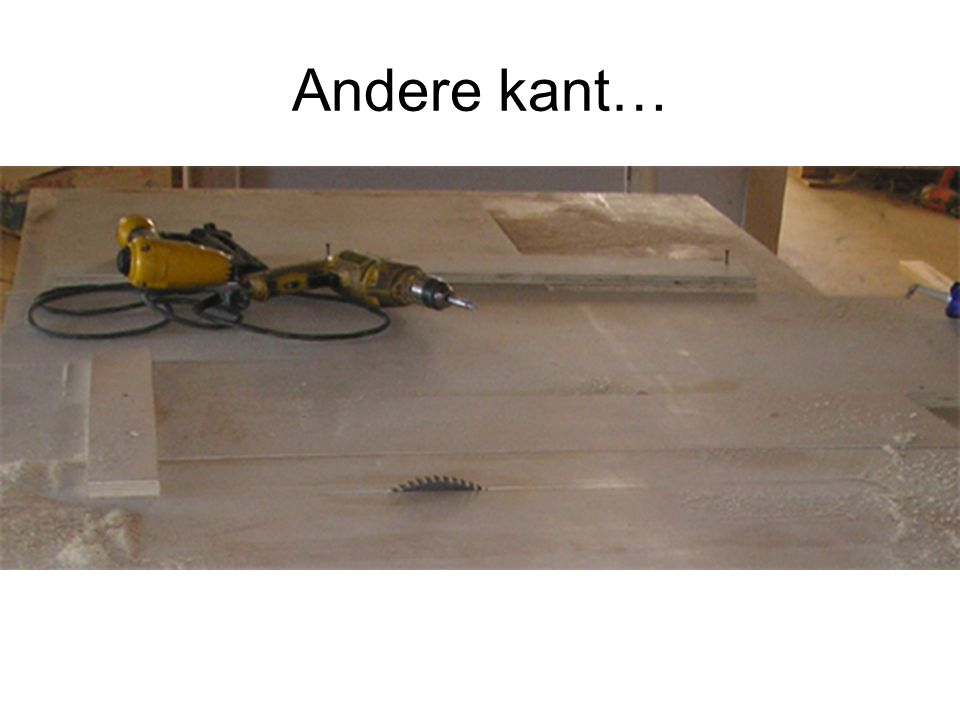 Andere kant…
