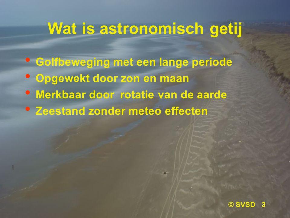 Wat is astronomisch getij