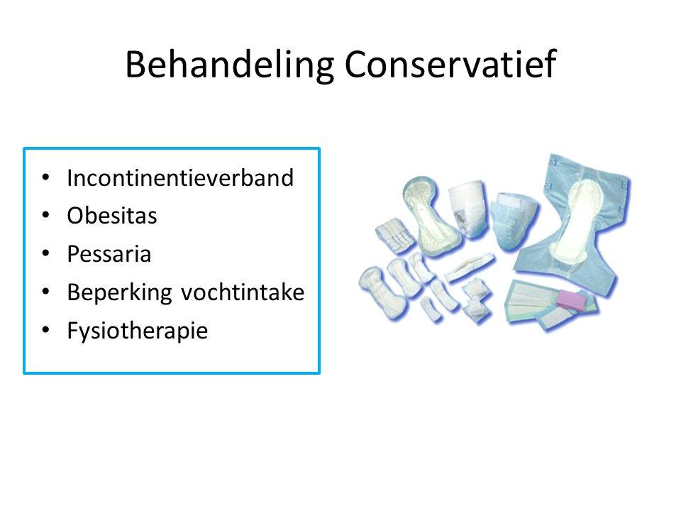 Behandeling Conservatief