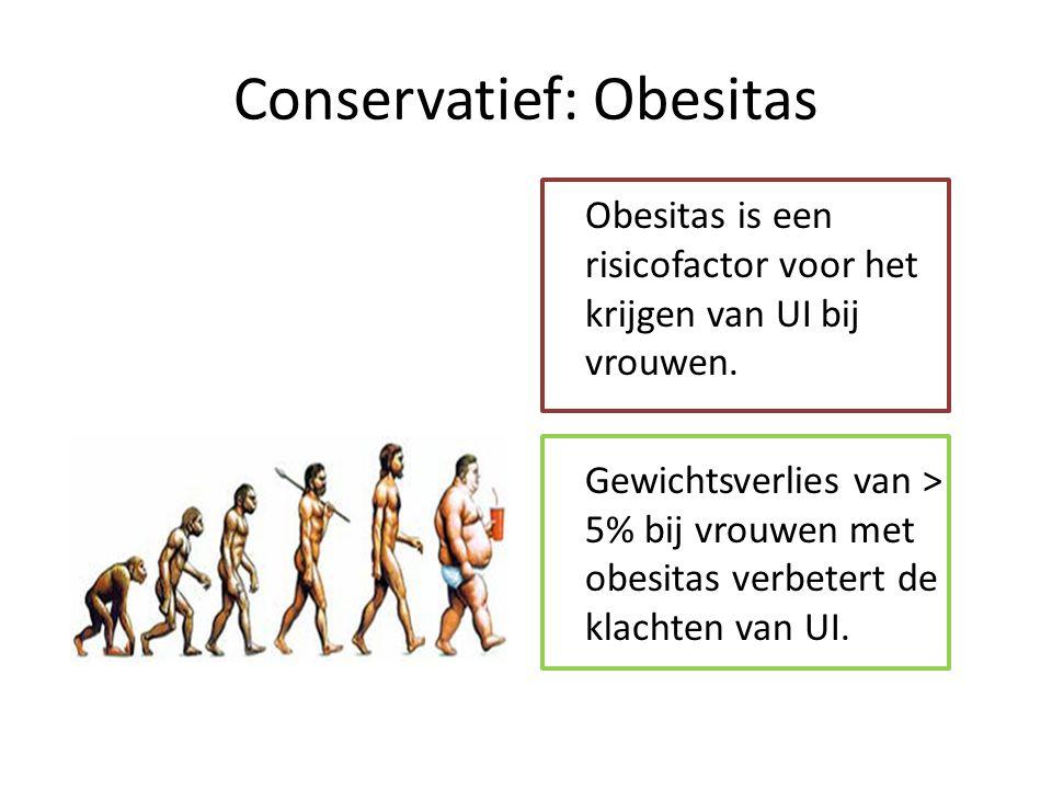 Conservatief: Obesitas