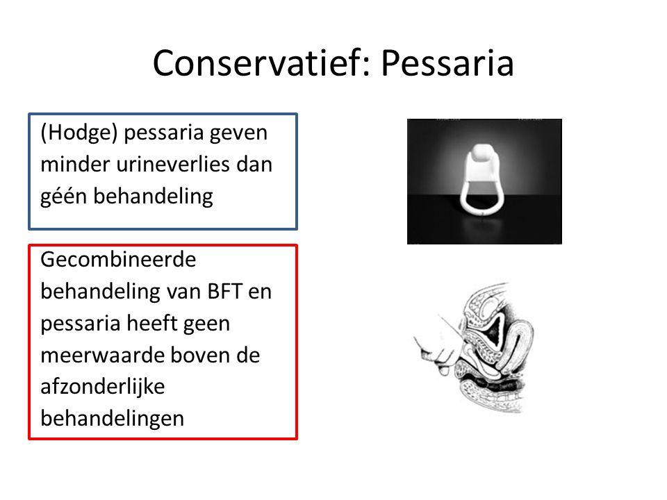 Conservatief: Pessaria