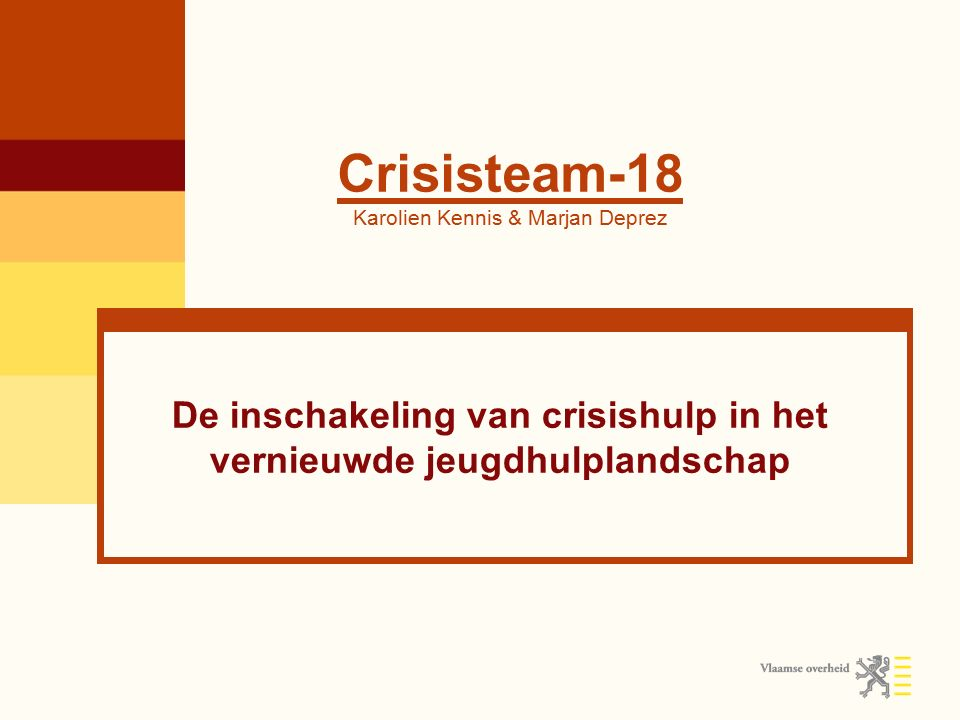 Crisisteam-18 Karolien Kennis & Marjan Deprez