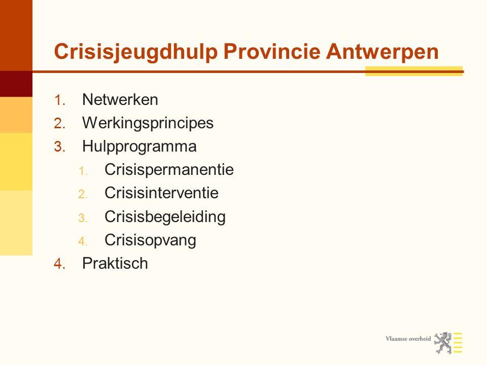 Crisisjeugdhulp Provincie Antwerpen