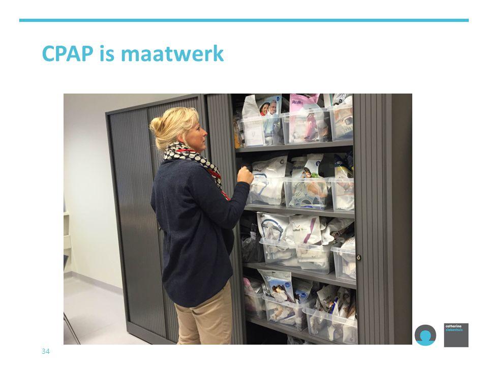 CPAP is maatwerk