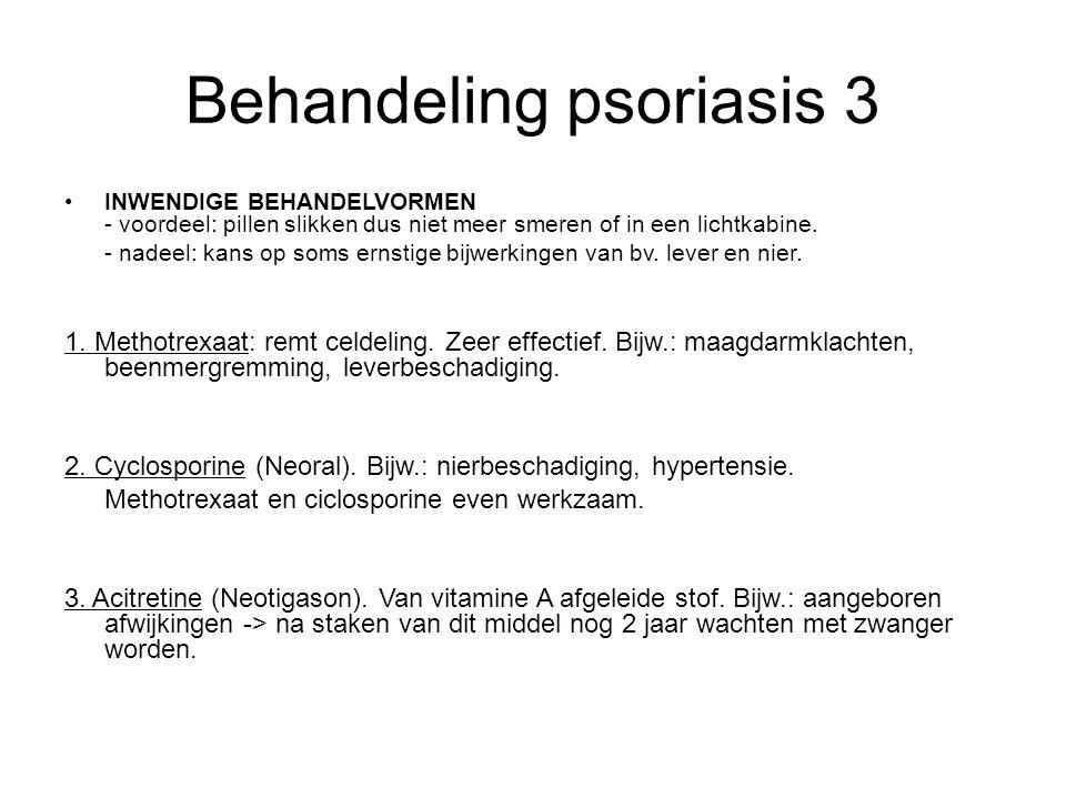 Behandeling psoriasis 3