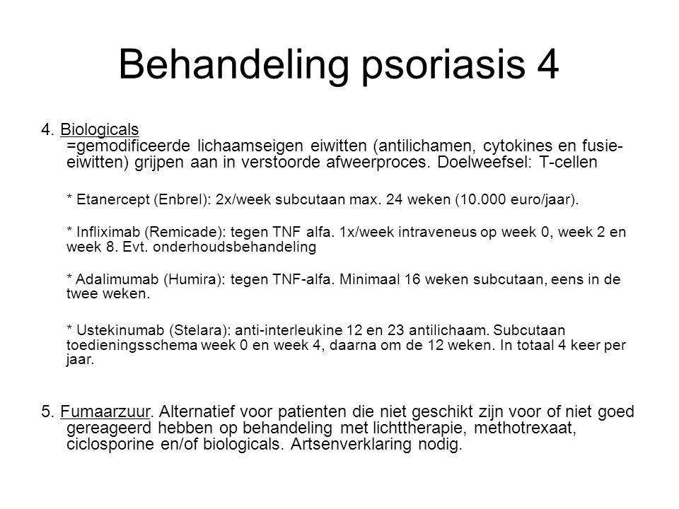 Behandeling psoriasis 4