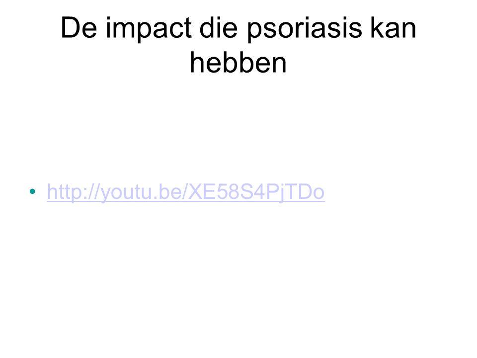 De impact die psoriasis kan hebben