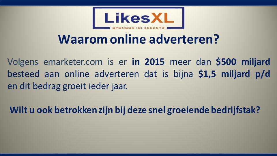 Waarom online adverteren