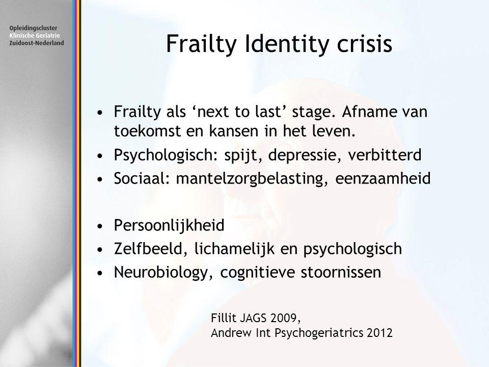 Frailty Identity crisis