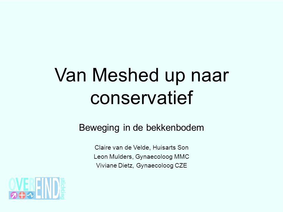 Van Meshed up naar conservatief