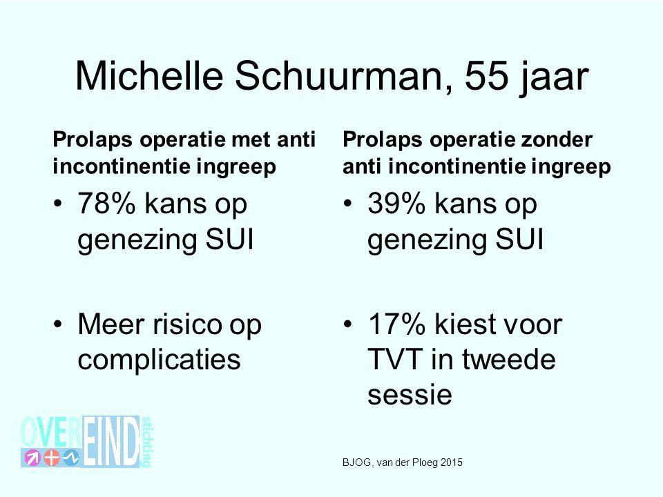 Michelle Schuurman, 55 jaar