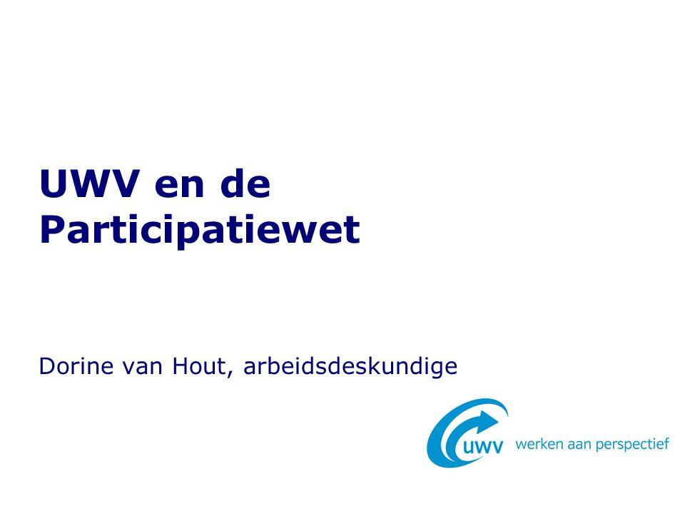 UWV en de Participatiewet