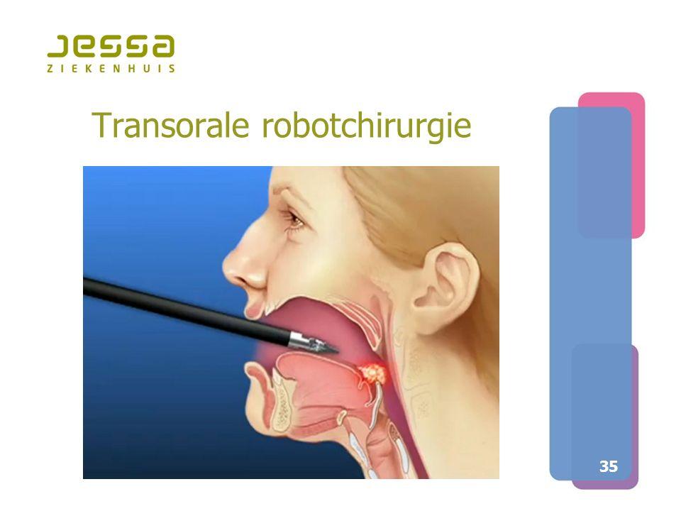 Transorale robotchirurgie