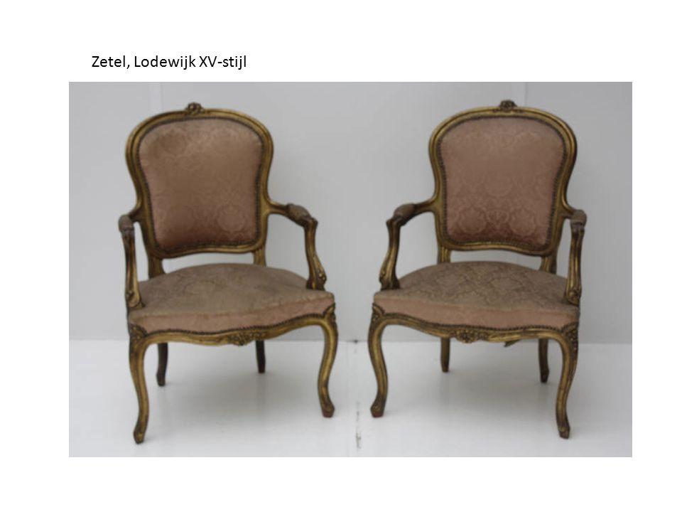 Zetel, Lodewijk XV-stijl