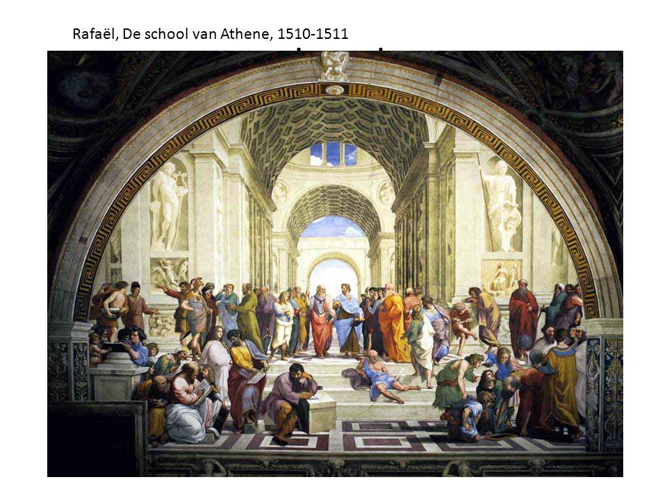 deeed Rafaël, De school van Athene, 1510-1511