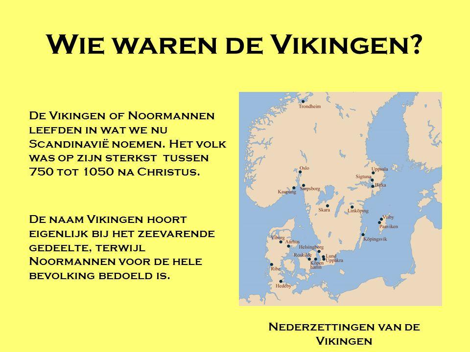 Nederzettingen van de Vikingen