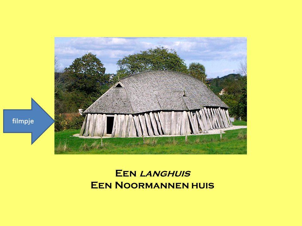 filmpje Een langhuis Een Noormannen huis