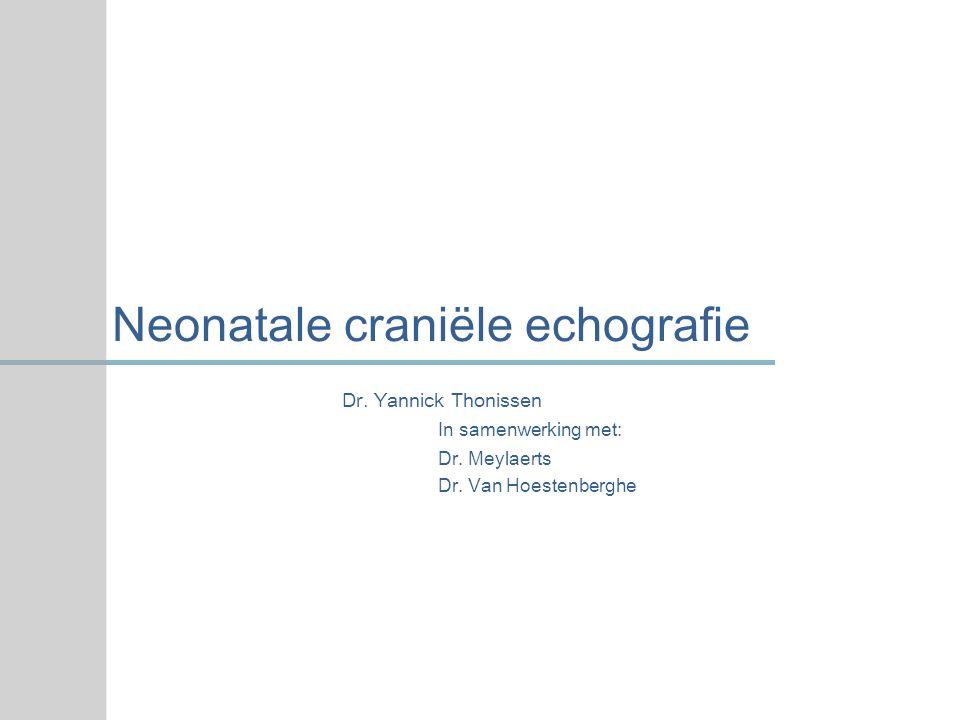 Neonatale craniële echografie