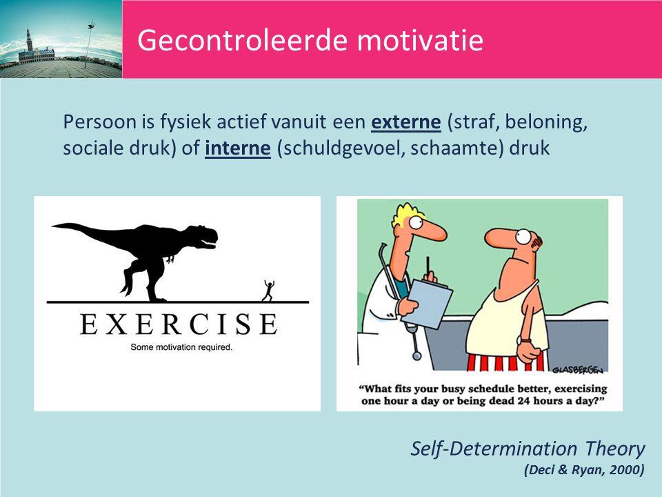 Gecontroleerde motivatie