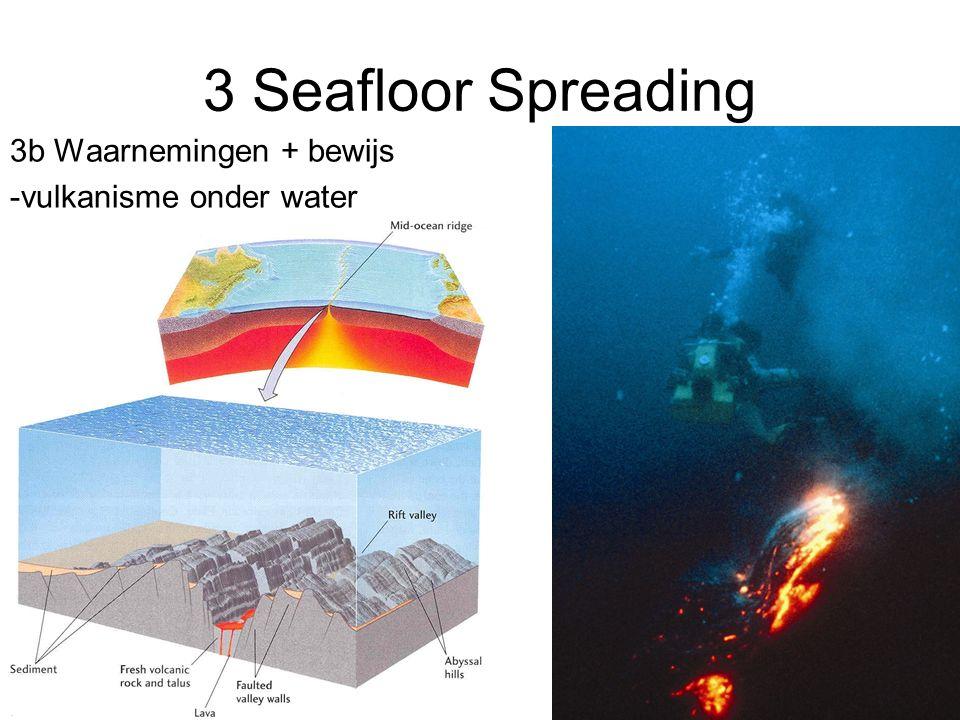 3 Seafloor Spreading 3b Waarnemingen + bewijs -vulkanisme onder water
