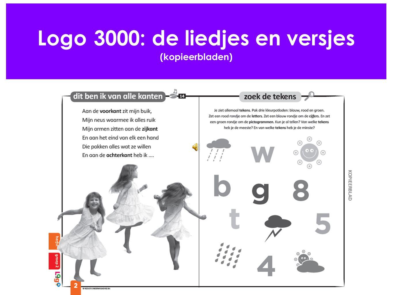 Logo 3000: de liedjes en versjes