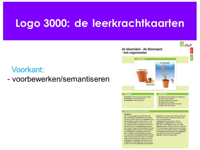 Logo 3000: de leerkrachtkaarten