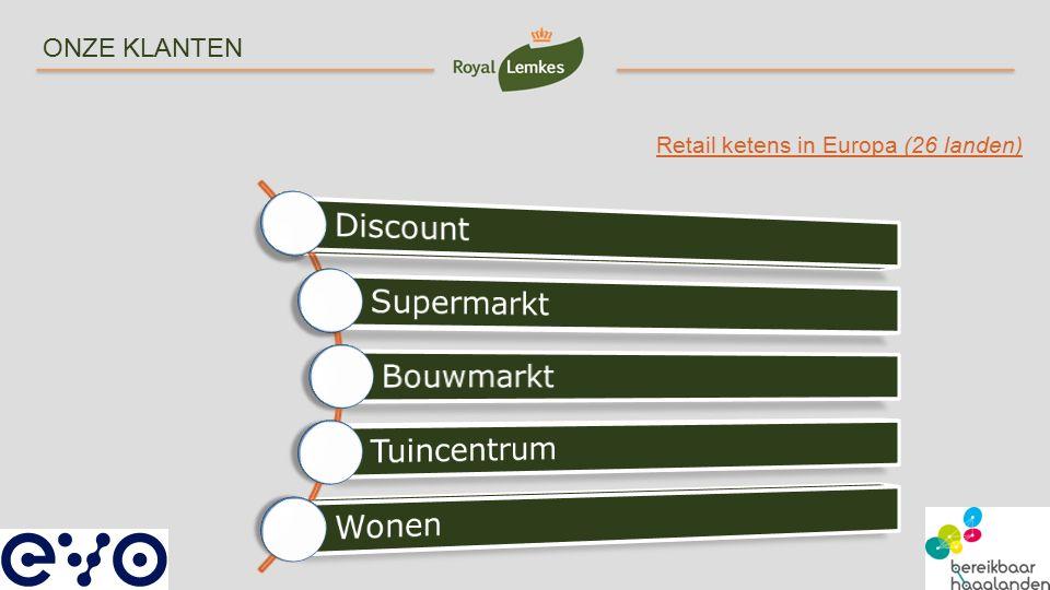 Discount Supermarkt Bouwmarkt Tuincentrum Wonen ONZE KLANTEN