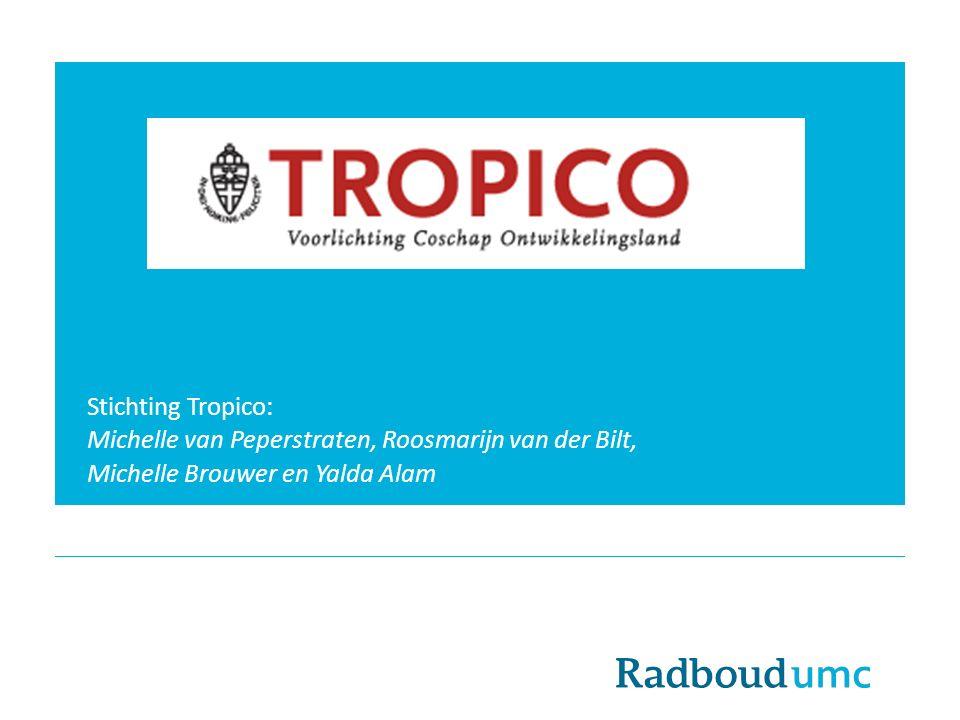 Stichting Tropico: Michelle van Peperstraten, Roosmarijn van der Bilt, Michelle Brouwer en Yalda Alam.