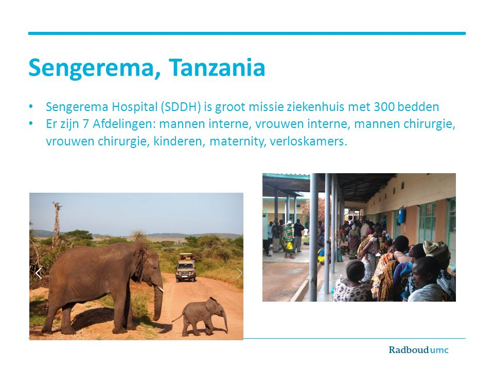 Sengerema, Tanzania Sengerema Hospital (SDDH) is groot missie ziekenhuis met 300 bedden.