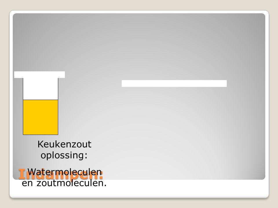Keukenzout oplossing: