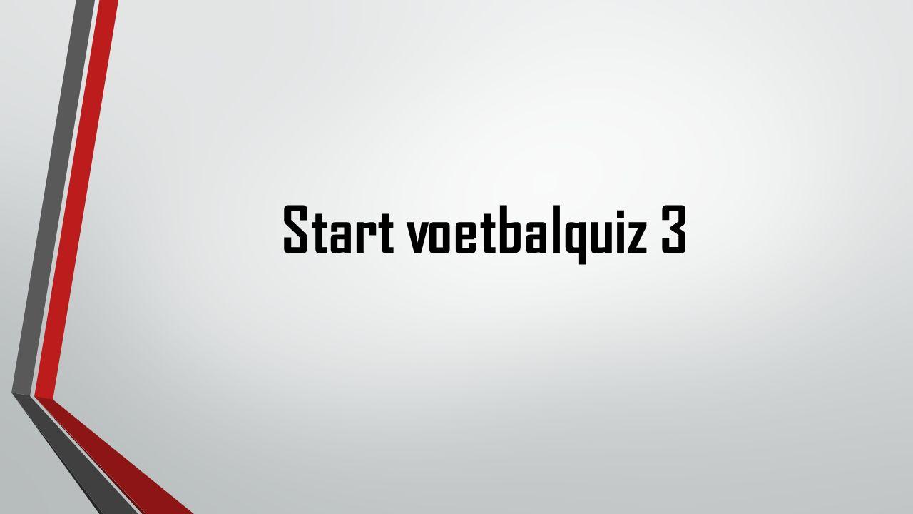 Start voetbalquiz 3