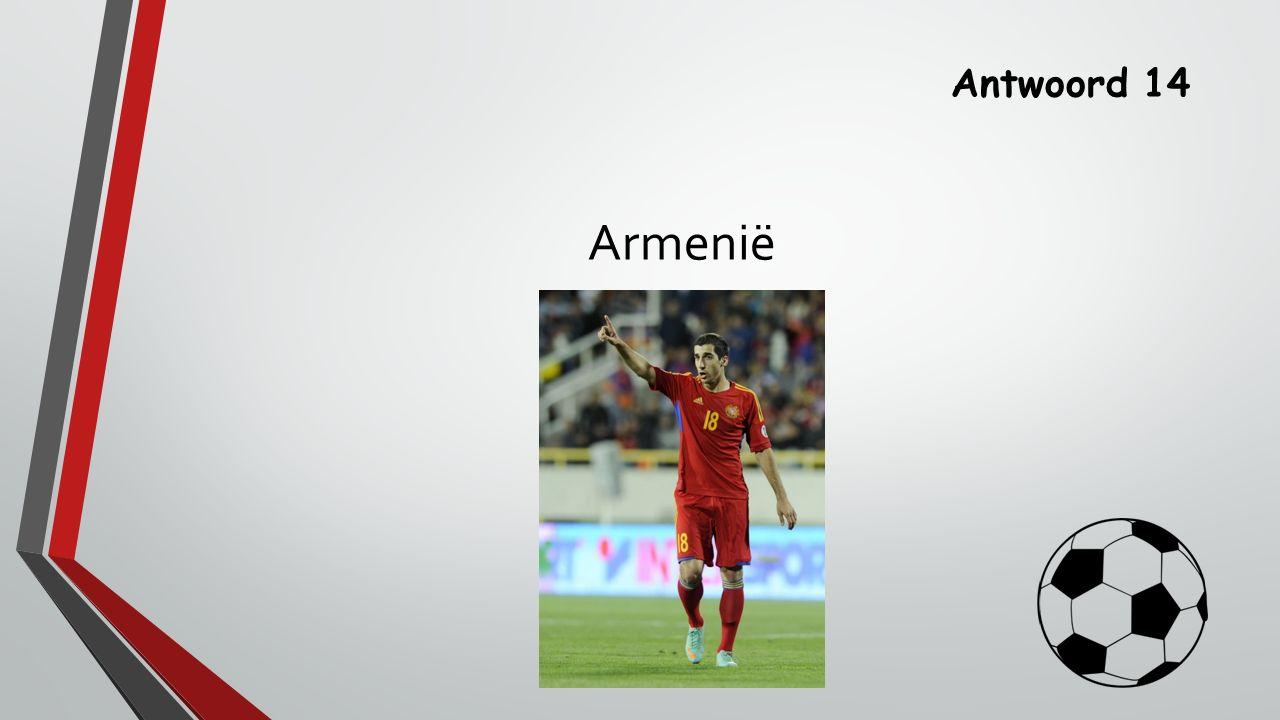 Antwoord 14 Armenië