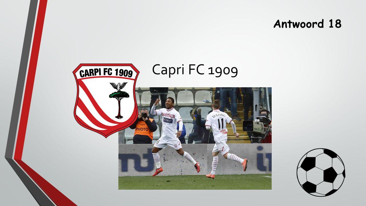 Antwoord 18 Capri FC 1909
