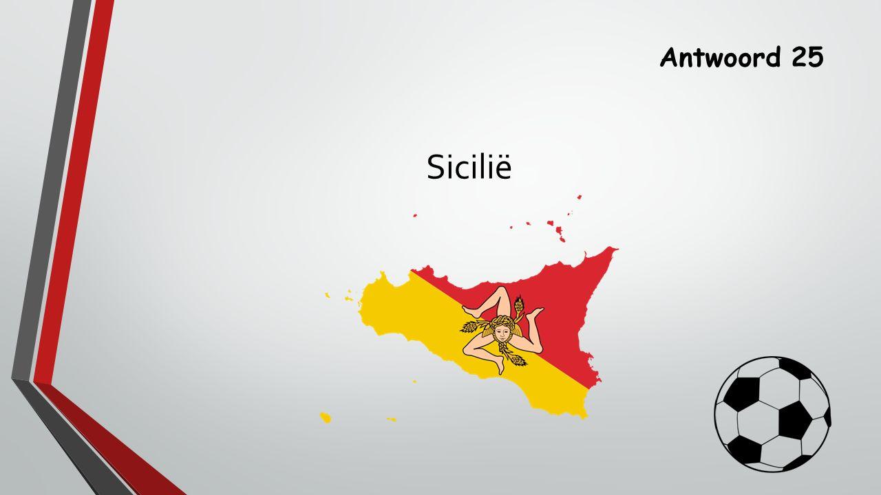 Antwoord 25 Sicilië