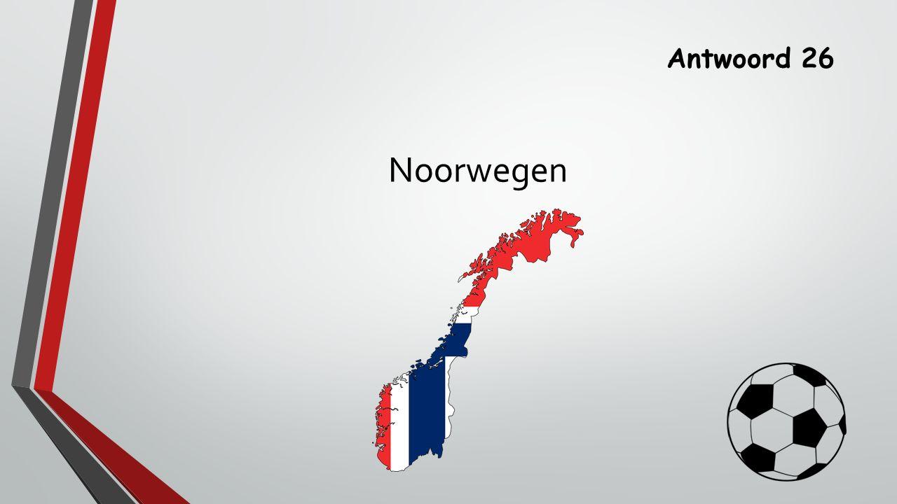 Antwoord 26 Noorwegen