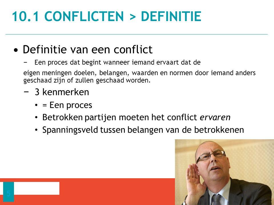 10.1 Conflicten > definitie