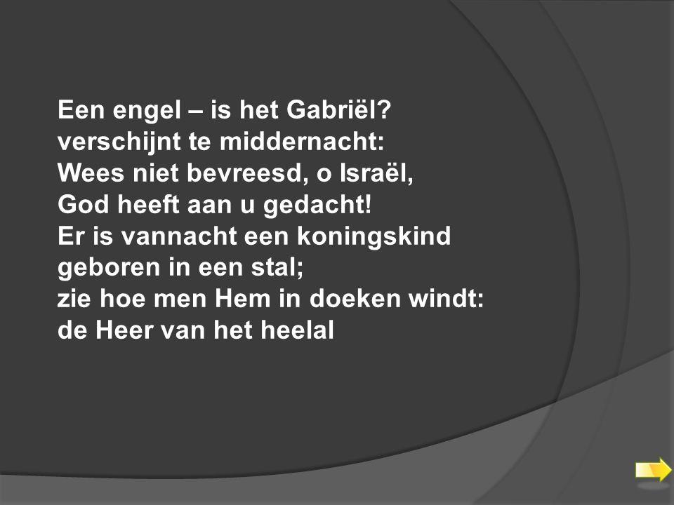Een engel – is het Gabriël