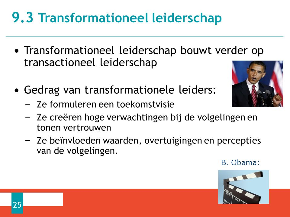9.3 Transformationeel leiderschap