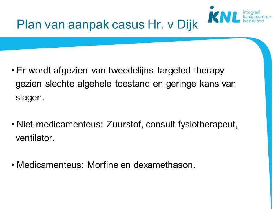 Plan van aanpak casus Hr. v Dijk