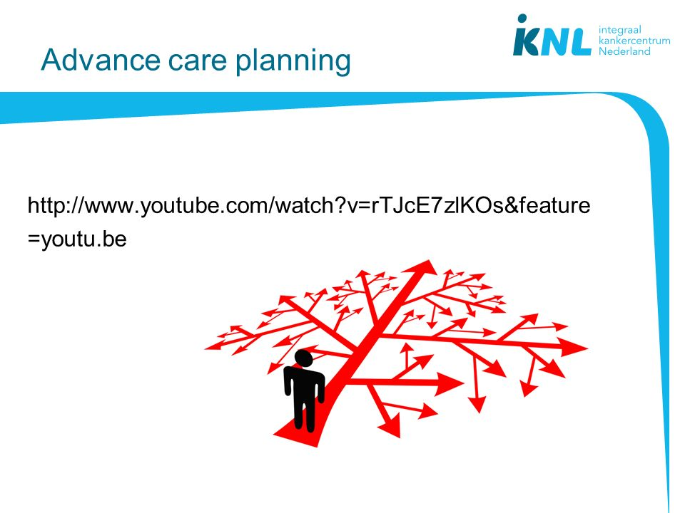 Advance care planning http://www.youtube.com/watch v=rTJcE7zlKOs&feature=youtu.be