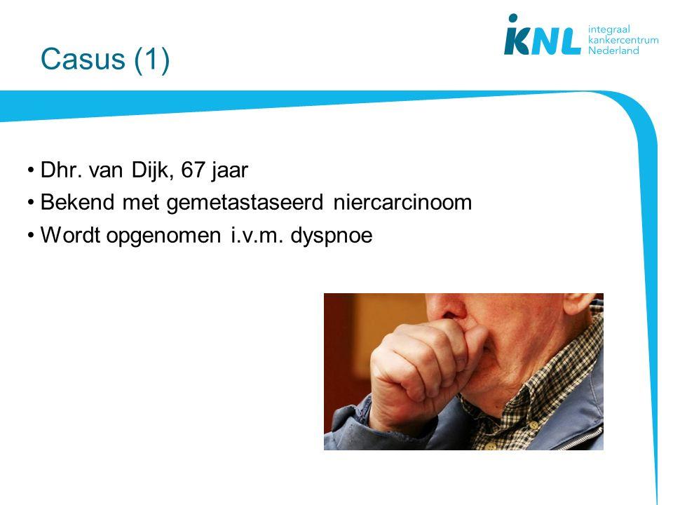 Casus (1) Dhr. van Dijk, 67 jaar