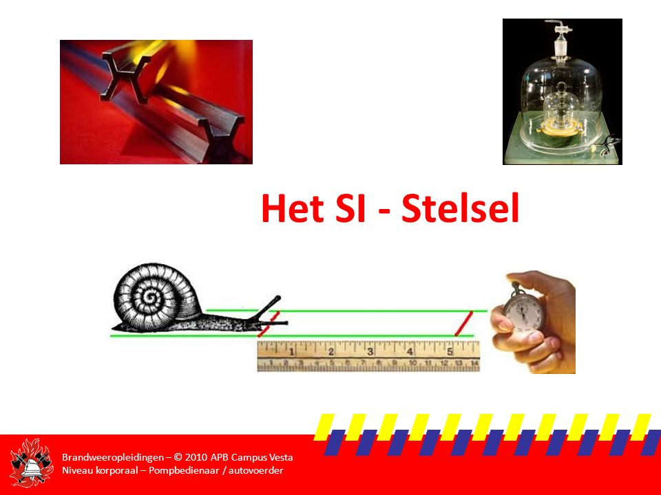 Het SI - Stelsel