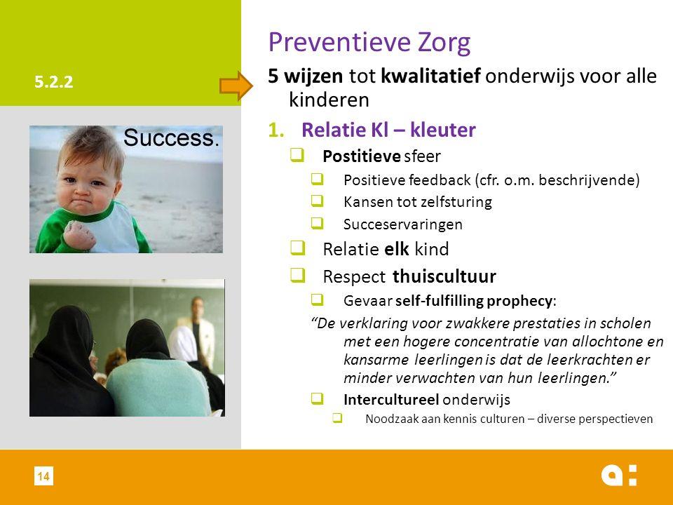 Preventieve Zorg 5 wijzen tot kwalitatief onderwijs voor alle kinderen