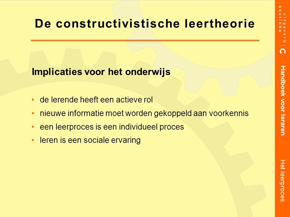 De constructivistische leertheorie
