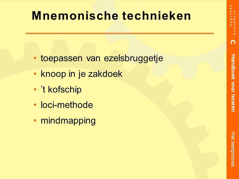 Mnemonische technieken