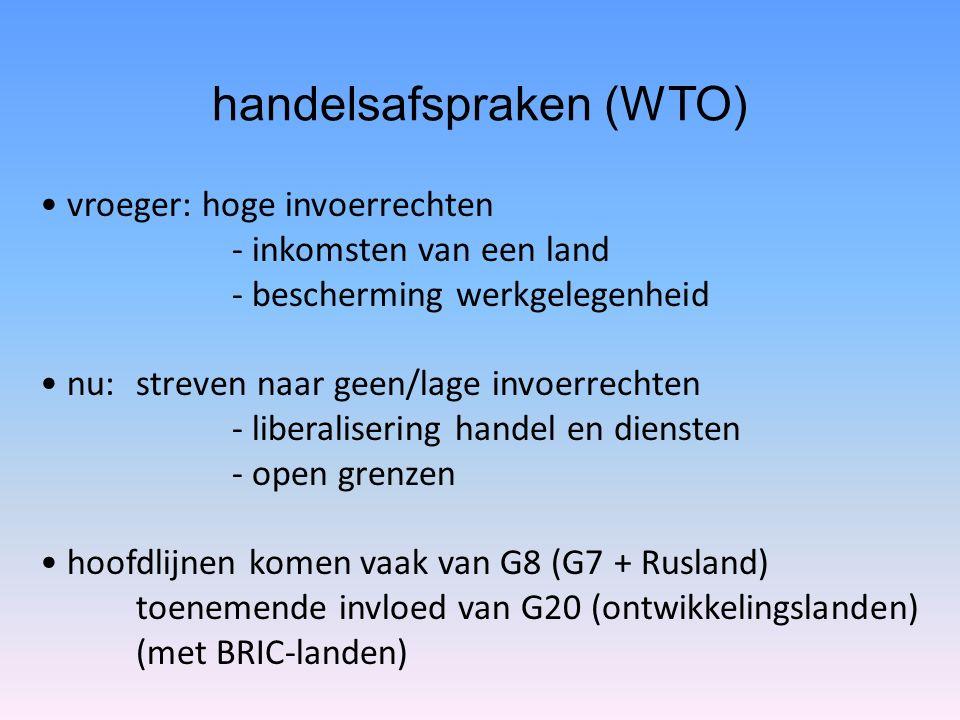handelsafspraken (WTO)
