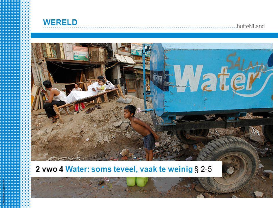 2 vwo 4 Water: soms teveel, vaak te weinig § 2-5