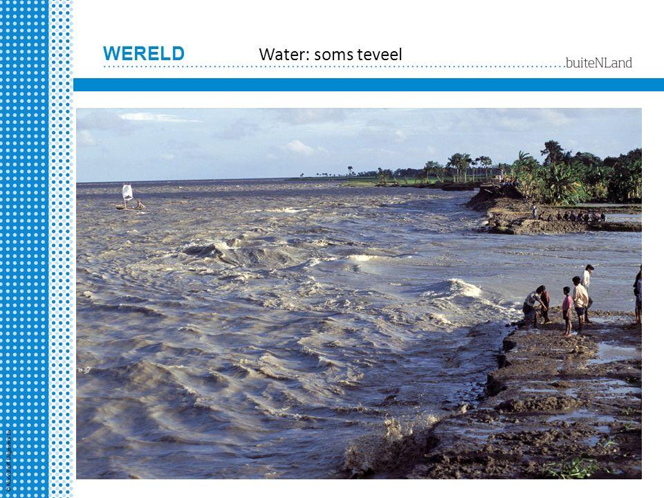 Water: soms teveel
