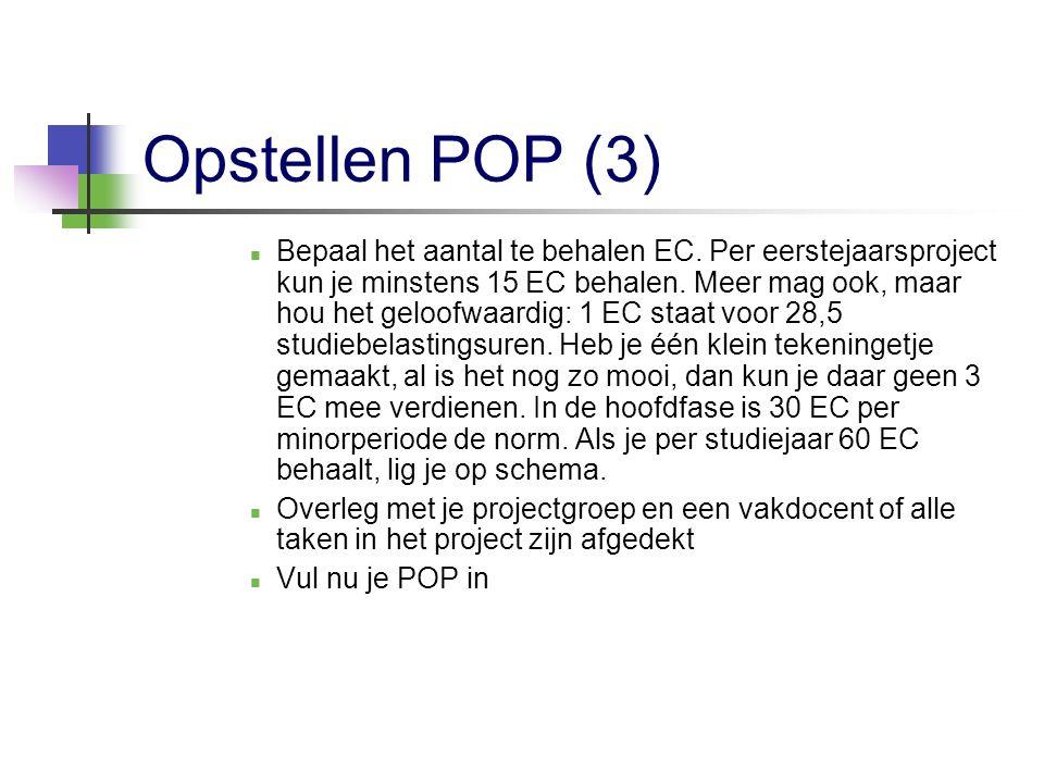 Opstellen POP (3)