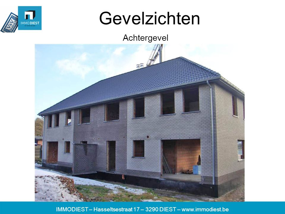 IMMODIEST – Hasseltsestraat 17 – 3290 DIEST – www.immodiest.be